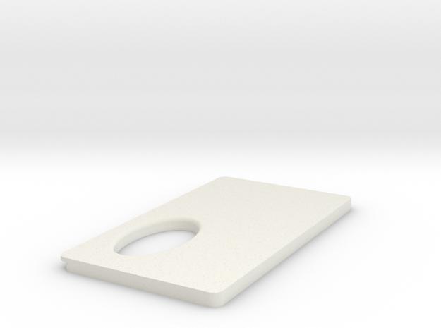 FuseBoxPanel in White Natural Versatile Plastic