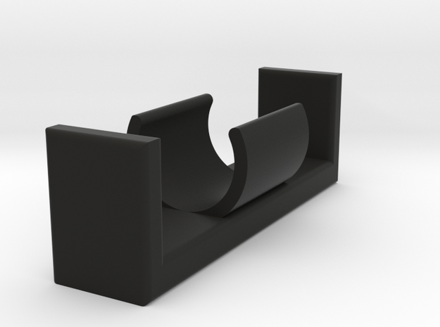 AA Battery Holder in Black Strong & Flexible