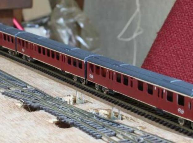 Plan U N scale (1:160) in White Natural Versatile Plastic