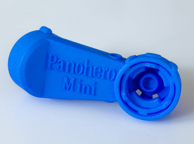 Panohero-Mini Body for Hero 5/6/7/8 in Blue Processed Versatile Plastic