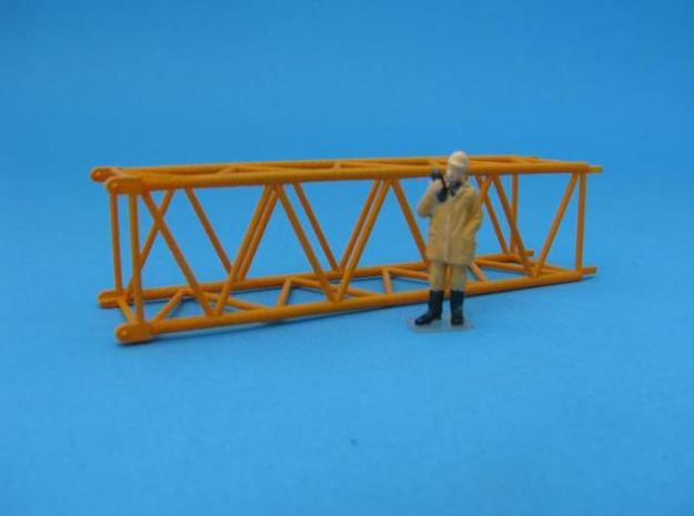 HO/1:87 Crane boom segment 17x17 in Frosted Ultra Detail