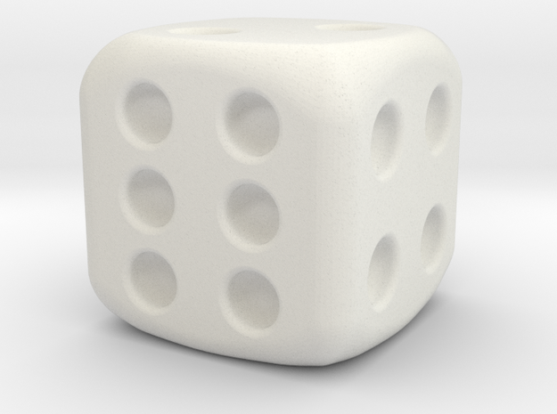 general dice  in White Strong & Flexible