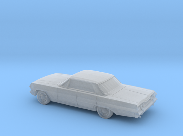 1/220 1963 Chevrolet Impala Sedan in Smooth Fine Detail Plastic