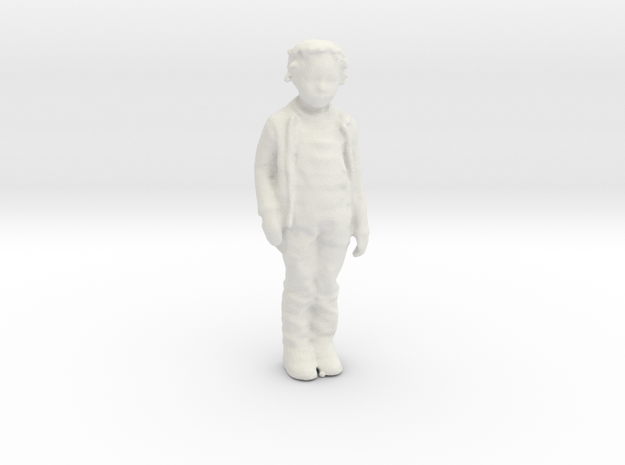 Printle C Kid 182 - 1/32 - wob in White Natural Versatile Plastic
