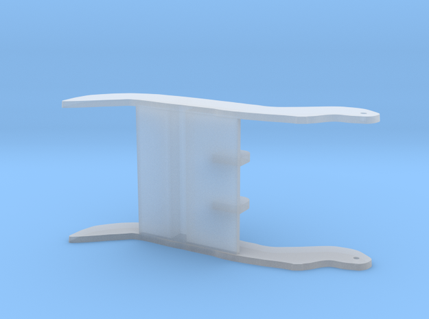 1/50 scale 20-40 ton hydraulic thumb  in Frosted Ultra Detail
