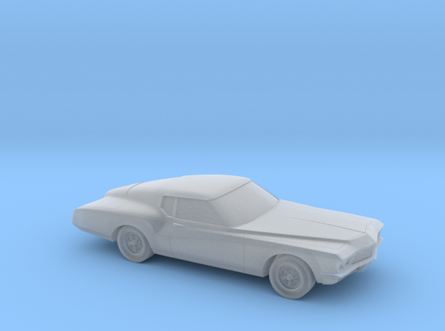 1/220 1971  Buick Riviera in Smooth Fine Detail Plastic