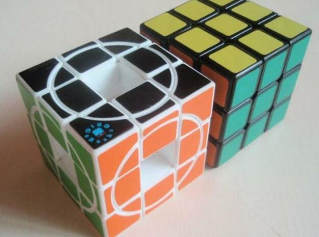 Zeroid Cube 3d printed Description