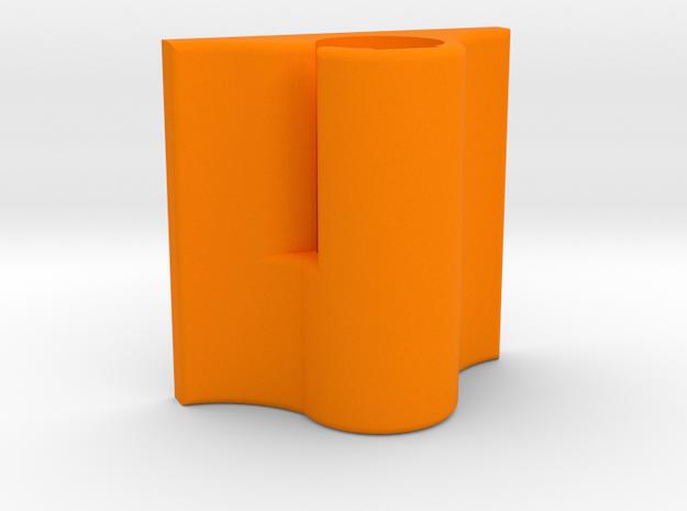 Sony ECM-CS3 Mic Holder (Flat Base) in Orange Strong & Flexible Polished