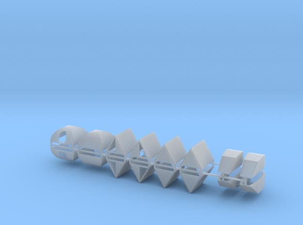 Zelte 16er Set - 1:87 H0 in Smooth Fine Detail Plastic
