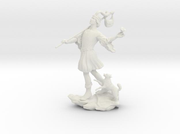 Rider-Waite Fool in White Premium Versatile Plastic: Small