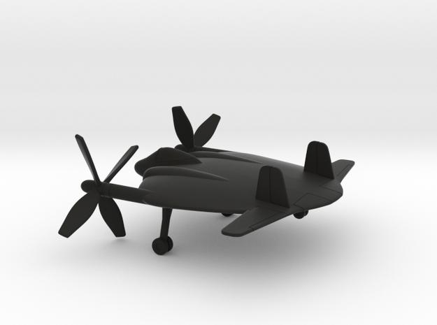 Vought XF5U-1 Flying Flapjack in Black Natural Versatile Plastic: 1:160 - N
