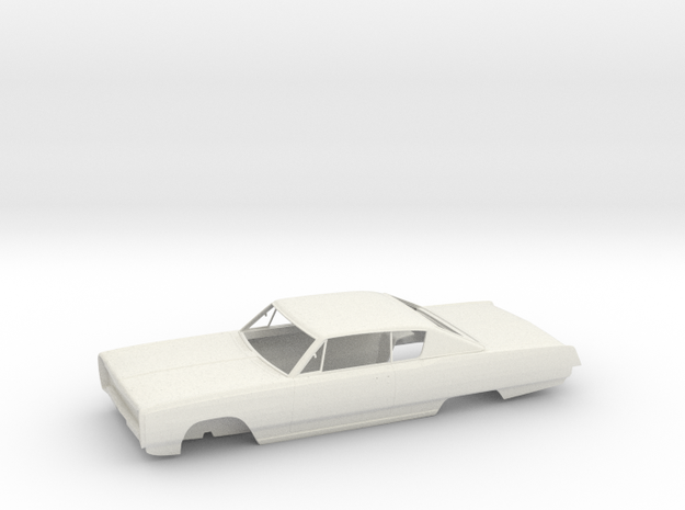 Plymouth Sport Fury '67 - Bodywork in White Natural Versatile Plastic