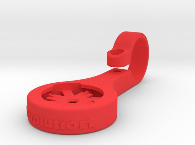 Edge TT Extension Mount 55 mm C-T-C in Red Processed Versatile Plastic