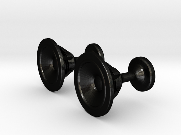 Speaker cufflinks