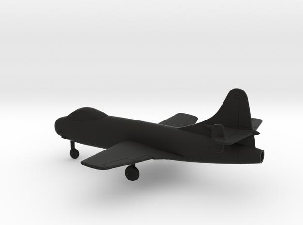 Vought F6U-1 Pirate in Black Natural Versatile Plastic: 1:160 - N
