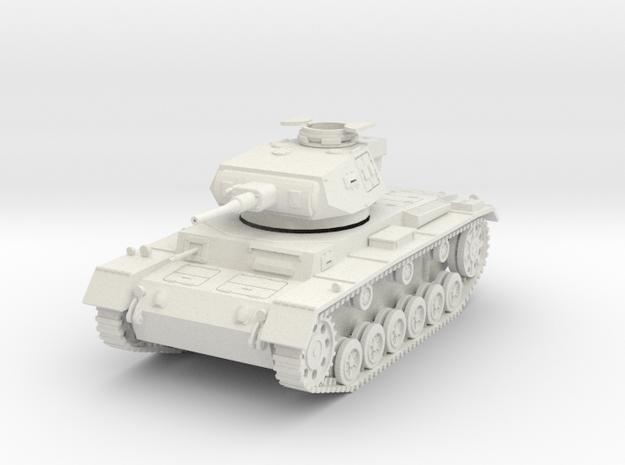 PV156E Pzkw IIIG Medium Tank (1/30) in White Strong & Flexible