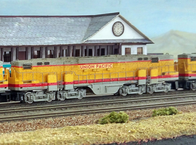 N Scale Alco C-855B Locomotive Shell Deluxe
