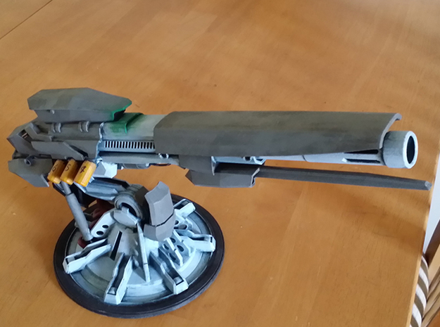Pax Terra Anti-Air and Anti-Orbital Cannon 3d printed