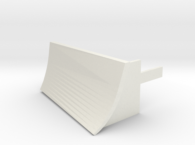 Tomy / Trackmaster Snowplough Type 4 Size 2 in White Natural Versatile Plastic