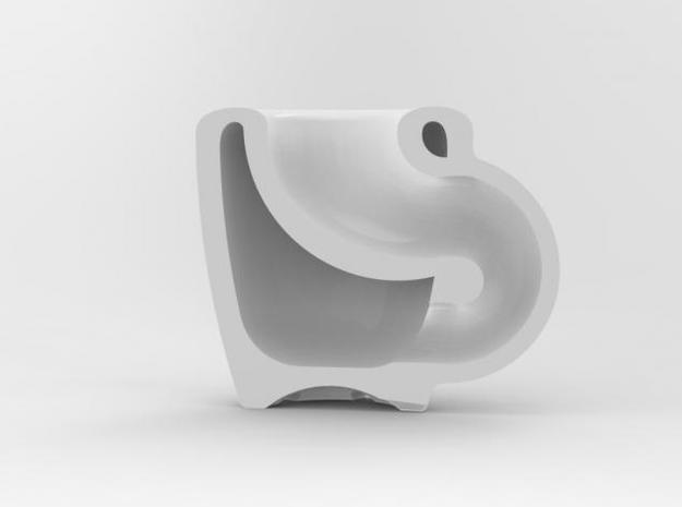 one cup a day | Day 19: Klein Bottle Cup 3d printed klein bottle Section