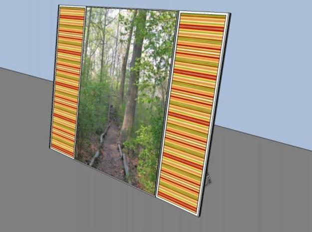 Picture Frame (Basic) in White Strong & Flexible