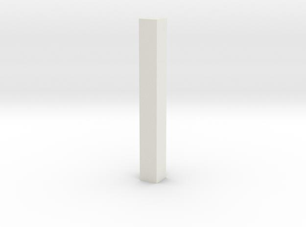 shkr067 - Teil 67 Dachstützbalken 1-3 Höhe in White Natural Versatile Plastic