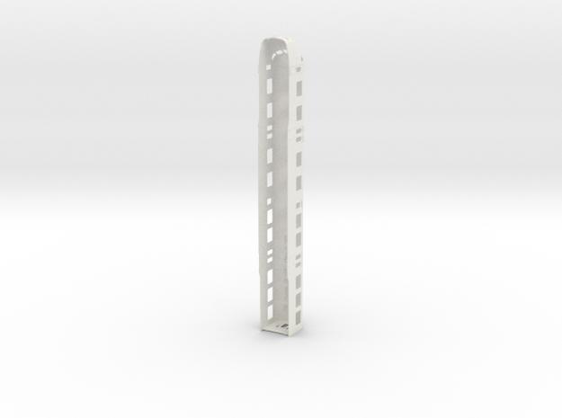 Plan U ABk scale 0 (1:45) in White Natural Versatile Plastic