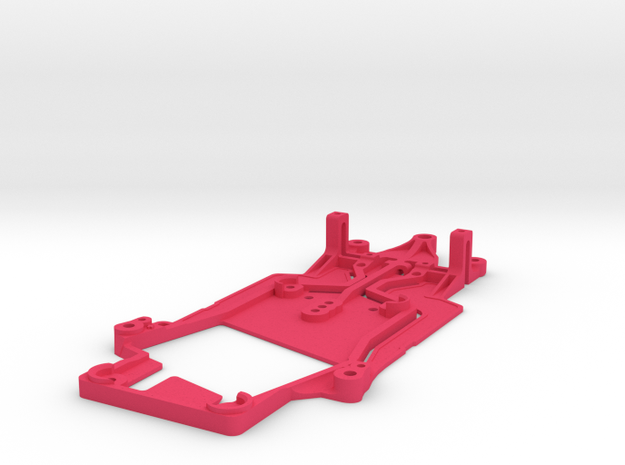 AM DBR9 RALLY CHASSIS in Pink Processed Versatile Plastic
