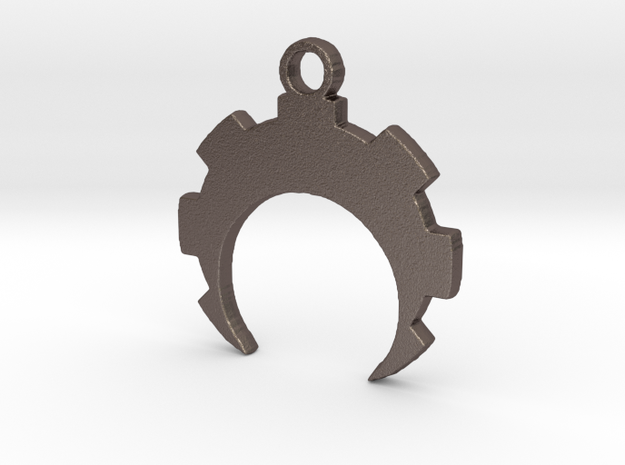 Crescent Cog in Stainless Steel
