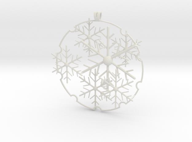 Snowball 2017 (small version) in White Natural Versatile Plastic