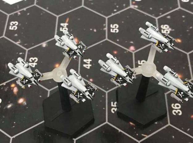 "Omni Scale Federation F-14 ""Tomcat"" Fighters MGL in Frosted Ultra Detail"