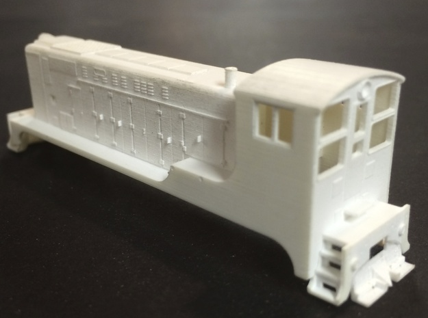 N scale Baldwin VO 660  in Frosted Ultra Detail