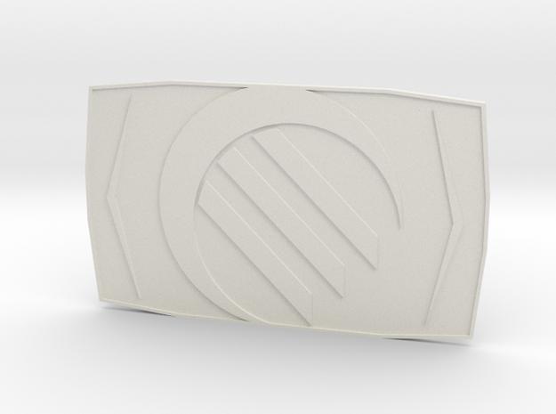 The Special Ops in White Premium Versatile Plastic