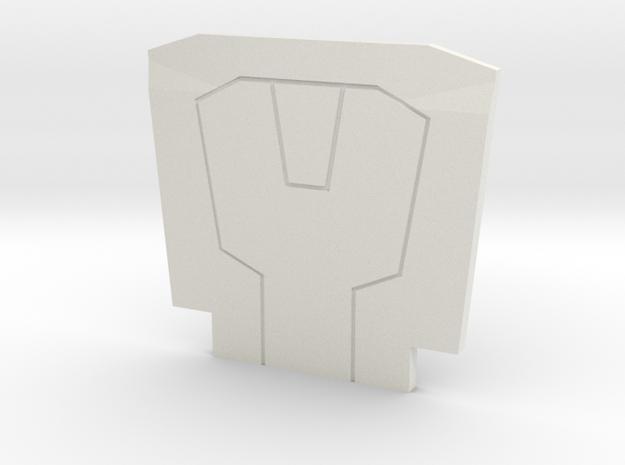 The Dark Assassin in White Premium Versatile Plastic