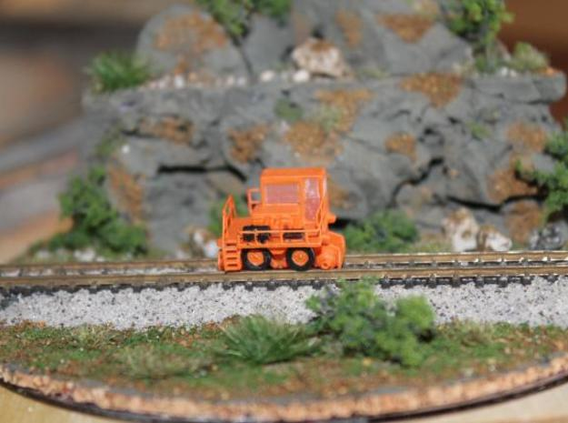 RailKing RK275 Railcar Mover - Zscale 3d printed Painting and Scene by John Mui
