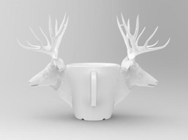 one cup a day | Day 25: Deer Cup 3d printed side