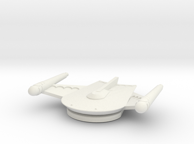 3125 Scale Romulan Freight Eagle MGL in White Natural Versatile Plastic