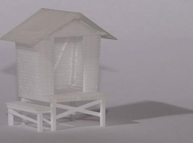 "1:87 Maitolaituri - ""Milk platform"" in Smooth Fine Detail Plastic"