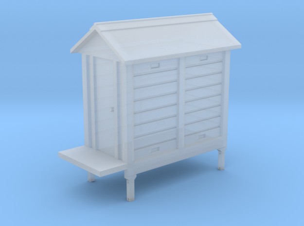 HO NSWGR Signal Hut with Supports - 2 Bay v10