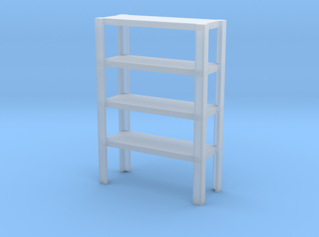 1/64 large shelving  in Smooth Fine Detail Plastic
