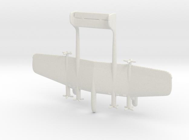 1:700 Daimler Benz Project C in White Natural Versatile Plastic