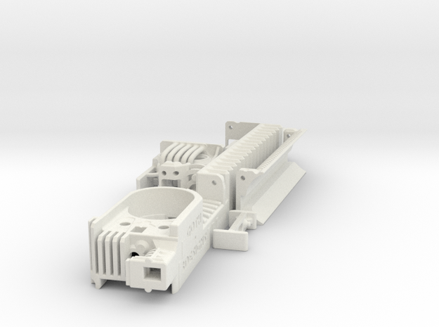 KR Ahsoka Shien - Part1 CS version in White Natural Versatile Plastic