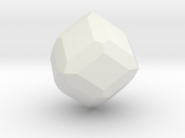 Garnet, 25 mm in White Natural Versatile Plastic