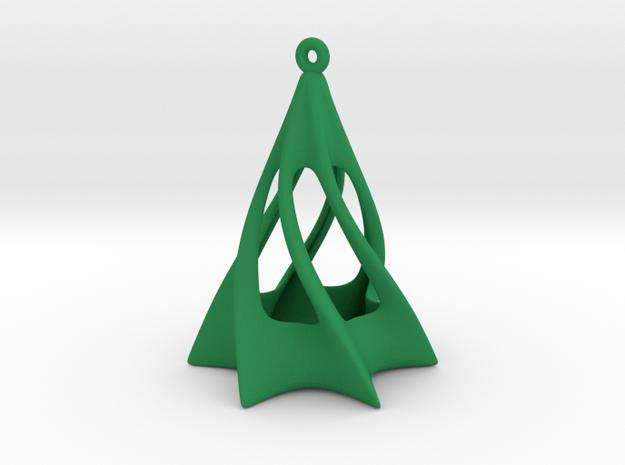 Christmas Tree in Green Processed Versatile Plastic