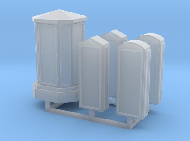 Linien- und Endverzweiger 5erSet - 1:120 TT in Smooth Fine Detail Plastic