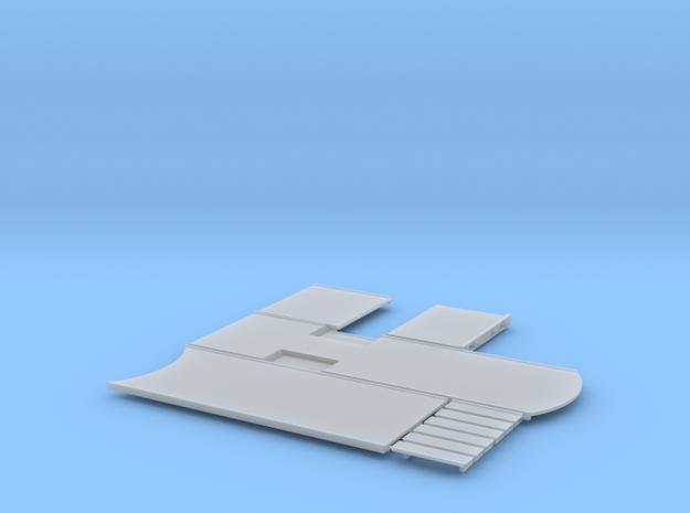 1/87 H0 Aufbau 5a Plattformhängerzug