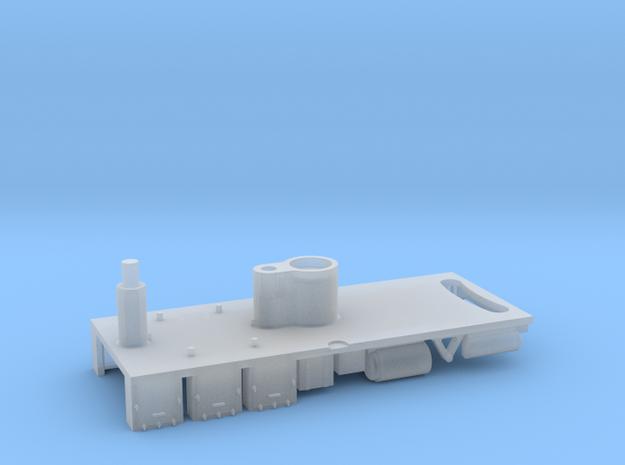 22224 EMU Underframe 3d in Smooth Fine Detail Plastic