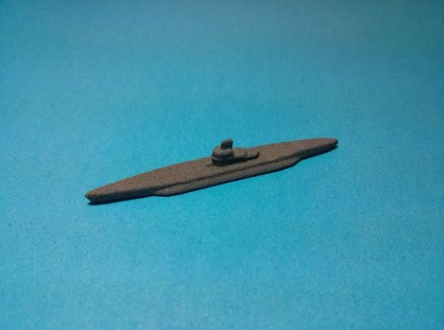 """Type XIV U-boat """"Milch Cow"""" x3 1/1750 3d printed Painted in dark grey base coat. Models sold unpainted"""