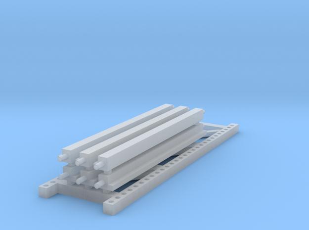 1/64 3 high 8ft PR Exstension in Smooth Fine Detail Plastic