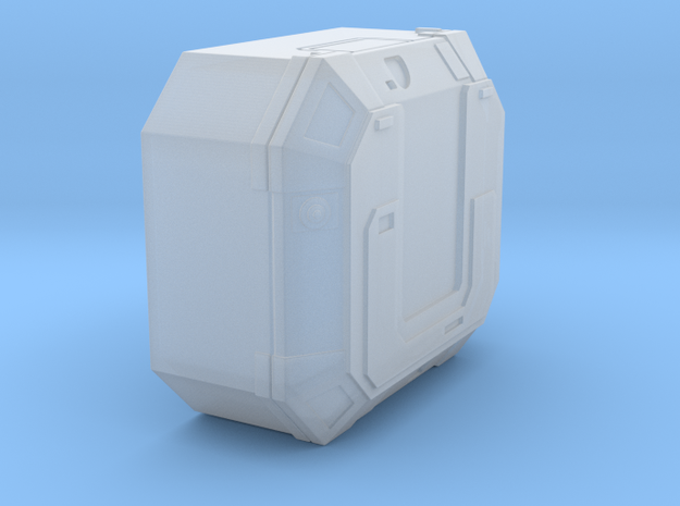 1:43/44 Scale SW Lg Equipment Box in Smooth Fine Detail Plastic